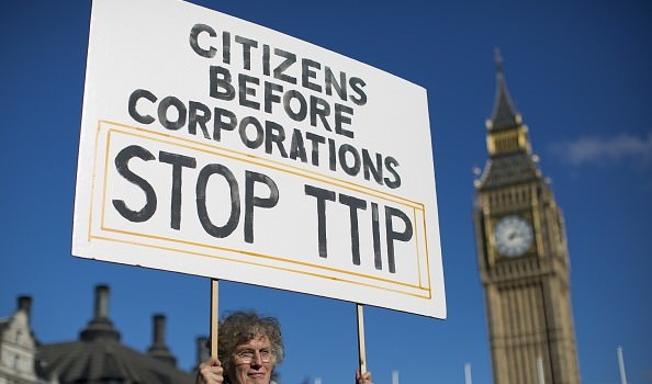 BRITAIN-EU-US-TRADE-TTIP-DEMO